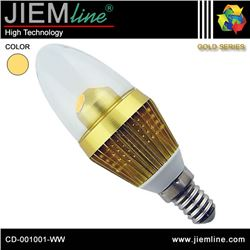 LÁMPARA LED E14 BLANCO CÁLIDO 3W - CD-001001-WW