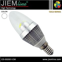 LÁMPARA LED E14 BLANCO FRÍO 3W - CD-002001-CW