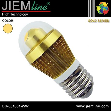 LÁMPARA LED E27 BLANCO CÁLIDO 3W - BU-001001-WW