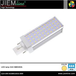 LÁMPARA LED G24 BLANCO CÁLIDO 8W - G24-8W-40SMD2835-WW