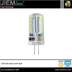 LÁMPARA LED G4 BLANCO CÁLIDO 3W - G4-C64SMD3014-WW