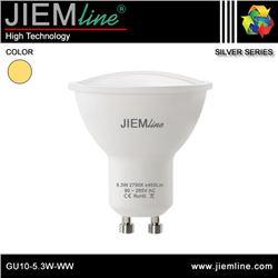 LÁMPARA LED GU10 BLANCO CÁLIDO 5,3W - GU10-5.3W-WW