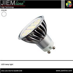 LÁMPARA LED GU10 BLANCO FRÍO 3,5W - GG-LDJ-GU10-S20W-CW