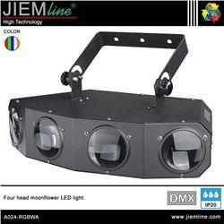 FOUR MOONFLOWER LED RGBWA - DMX 25W - A024-RGBWA-1