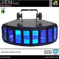 DERBY BUTTERFLY LED RGBW - DMX 40W - A043B-RGBW-1