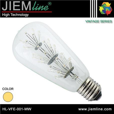 LÁMPARA LED E27 BLANCO CÁLIDO 1,6W - HL-VFE-001-WW