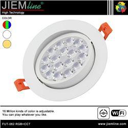 DOWNLIGHT LED RGB+CCT 9W WIFI 2,4 Ghz - FUT-062 RGB+CCT-1
