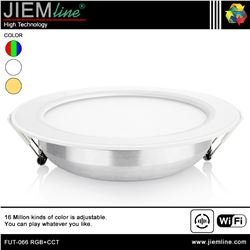 DOWNLIGHT LED RGB+CCT 12W WIFI 2,4 Ghz - FUT-066 RGB+CCT-1