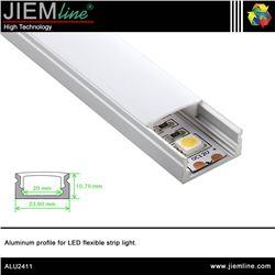 PERFIL LED ALUMINIO SUPER SLIM 2,0 m - ALU2411