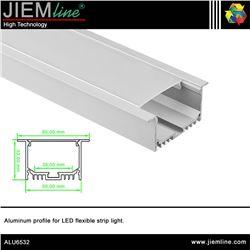 PERFIL LED ALUMINIO TECHO 2,5 m - ALU6532
