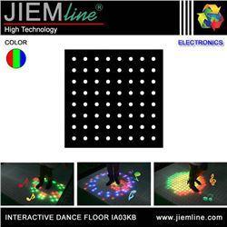 SUELO LED RGB INTERACTIVO 50x50x6,40 cm - IA03KB