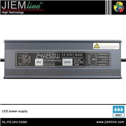 FUENTE ALIMENTACIÓN 250W 24V DC IP67 - HL-PS-24V-250W