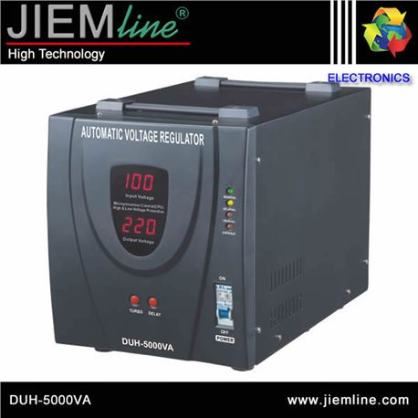 REGULADOR DIGITAL DE VOLTAJE 5000VA - DUH-5000VA