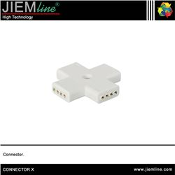 CONECTOR FEMALE X TIRA LED FLEXIBLE - CONNECTOR X
