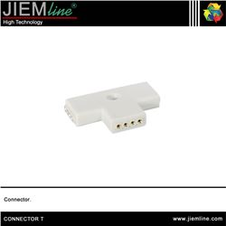CONECTOR FEMALE T TIRA LED FLEXIBLE - CONNECTOR T