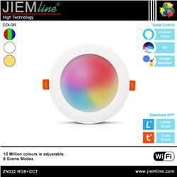 DOWNLIGHT LED RGB+CCT 8W WIFI 2,4 Ghz - ZN032-1