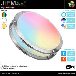 PLAFÓN LED TECHO RGB+CCT 15W WIFI 2,4 Ghz - ZN019CL12-1
