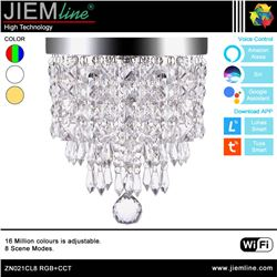 LÁMPARA LED CRISTAL RGB+CCT 15W WIFI 2,4Ghz - ZN021CL8-1