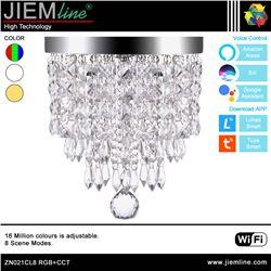 LÁMPARA LED CRISTAL RGB+CCT 15W WIFI 2,4Ghz - ZN021CL8-1