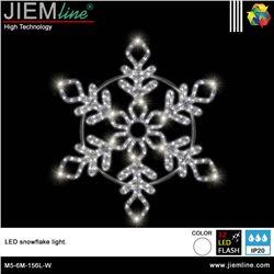 COPO NIEVE 2D LED W 60X60 cm - M5-6M-156L-W