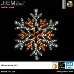 COPO NIEVE 2D LED WY 60X60 cm - M2-8M-208L-WY