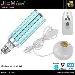 LÁMPARA LED E27 UVC 60W CON CONTROL REMOTO - MB-UVC-60W-B-1