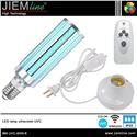 LÁMPARA LED E27 UVC 60W CON CONTROL REMOTO