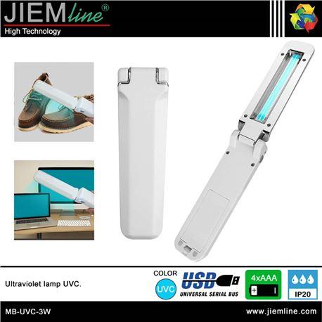 LÁMPARA TUBOS UVC 3W - MB-UVC-3W-1