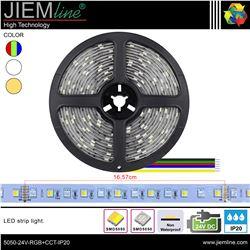 TIRA LED RGB+CCT 24V DC IP20 - 5050-24V-RGB+CCT-IP20