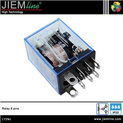 RELÉ 220V AC 8 PIN - LY2NJ-1