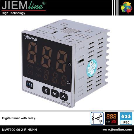 TEMPORIZADOR DIGITAL EMPOTRABLE - MWT700-1