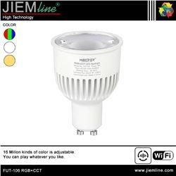 LÁMPARA LED GU10 RGB+CCT 6W WIFI 2,4 Ghz - FUT-106 RGB+CCT-1