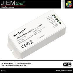 CONTROLADOR SYS LED RGB+CCT WIFI 2,4 Ghz - SYS-T1-1