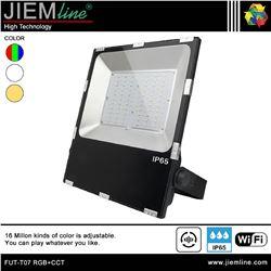 PROYECTOR SLIM LED RGB+CCT 100W WIFI 2,4 Ghz - FUT-T07 RGB+CCT-1