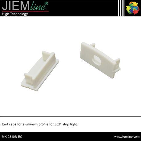 TAPAS PERFIL ALUMINIO LED - MX-2310B-EC