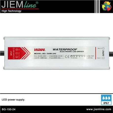 FUENTE ALIMENTACIÓN 150W 24V DC IP67 - BG-150-24