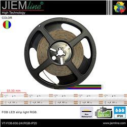 TIRA FOB LED RGB 24V DC IP20 - VT-FOB-882-24VRGB-IP20