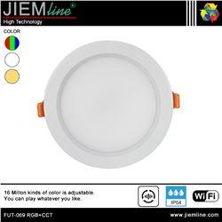 DOWNLIGHT LED RGB+CCT 15W WIFI 2,4 Ghz - FUT-069 RGB+CCT-1
