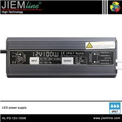 FUENTE ALIMENTACIÓN 100W 12V DC IP67 - HL-PS-12V-100W