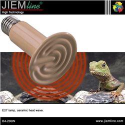 LÁMPARA DE CALOR E27 CERÁMICA 200W - D4-200W