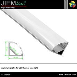 PERFIL LED ALUMINIO CORNER 2,5 m - ALU1616B