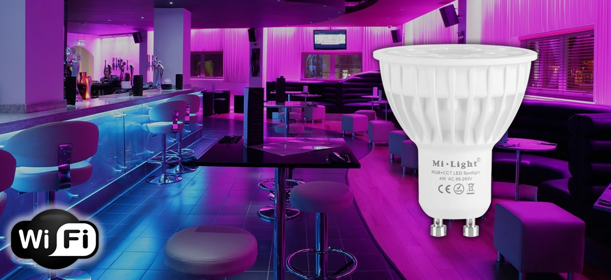LAMPARA LED GU10 WIFI