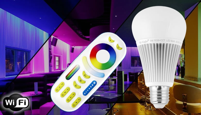 LED BULB LIGHT WIFI