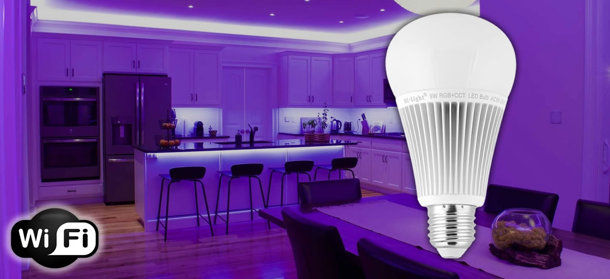LAMPARA LED E27 WIFI