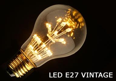 LED E27 VINTAGE